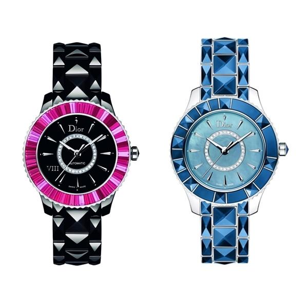 (左)Dior Vlll (右)Dior Christal