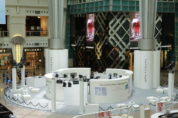 位於101購物中心4樓的展區