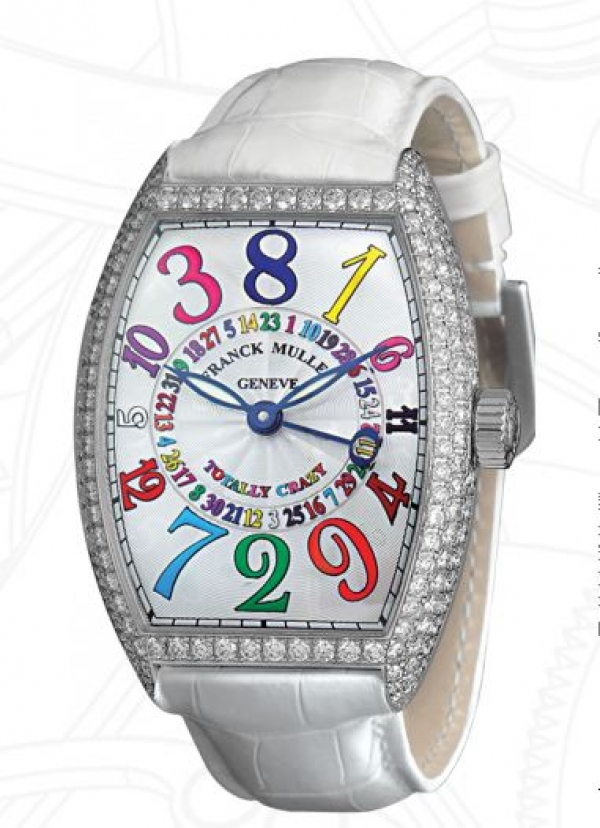 Crazy Hours系列的數字時標不是按照一般順時鐘順序。
