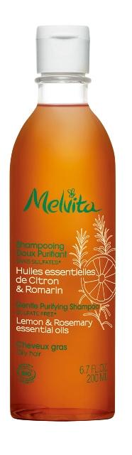 Melvita 歐盟BIO淨化洗髮精 ,200ml,580元。