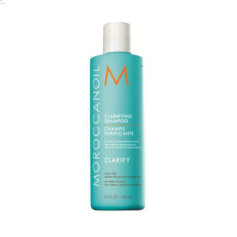 Moroccanoil 優油深層淨化洗髮露,250ml,900元。
