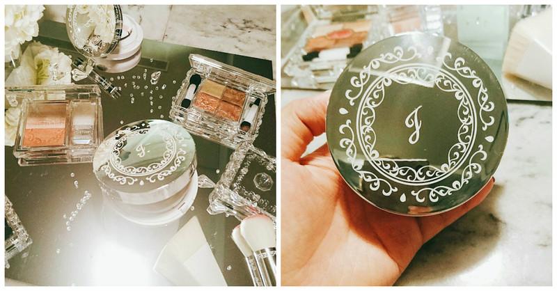 不只外型美,光澤更是了得!JILL STUART氣墊粉餅不只能上妝,還能拍出立體輪廓!