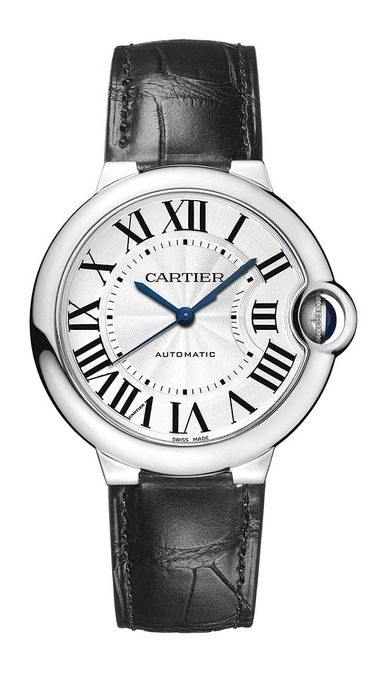 Cartier Ballon Bleu de Cartier 系列精鋼自動腕錶,180,000元