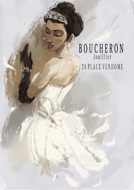法國動畫電影《Ballerina》,向首家進駐芳登廣場的珠寶品牌Boucheron致敬,選用品牌歷代傑作中的頭冠,為電影女主角Félicie妝點造型,伴隨她向著夢想前進。