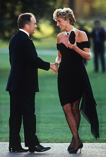 Princess Diana for Manolo Blahnik