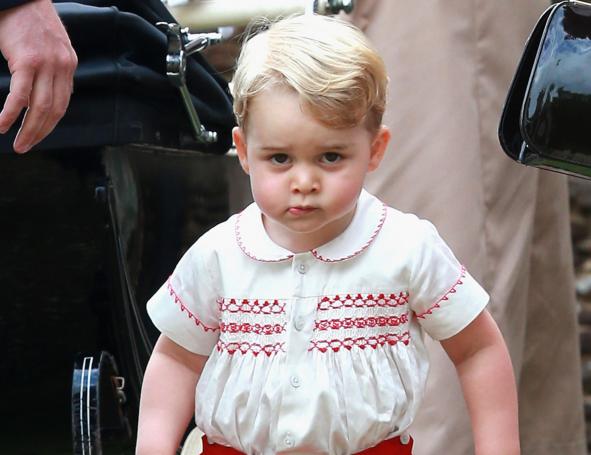 超療癒!星二代比爸媽還搶鏡 #哈潑 #喬治王子...