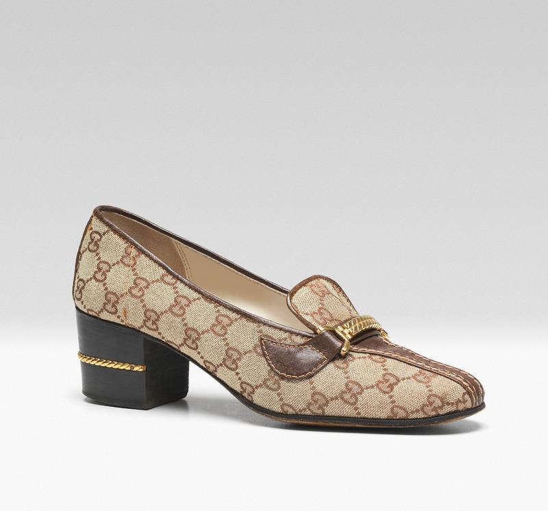 Gucci Museo 博物館內展出的復古女鞋。