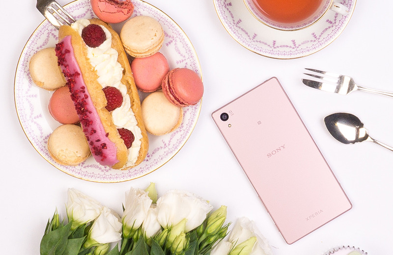 Sony Xperia Z5 Rose Quartz玫瑰石英粉