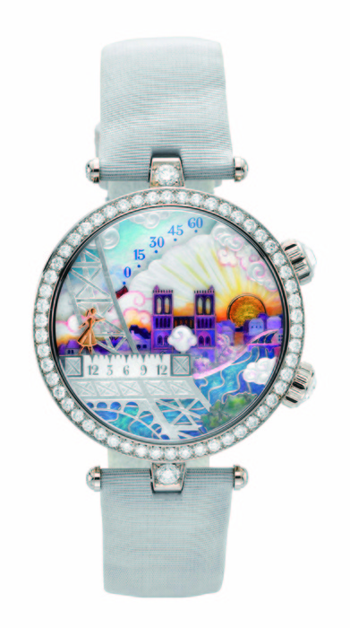 Van Cleef & Arpels Lady Arpels Poetic Wish 詩意複雜功能女性問錶