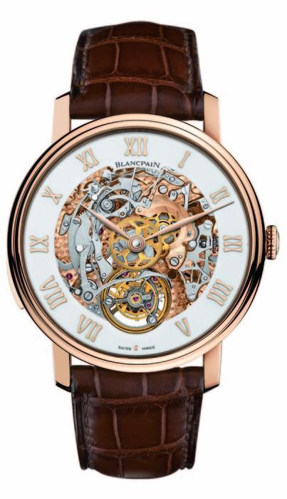 Blancpain Le Brassus 系列卡羅素三問腕錶