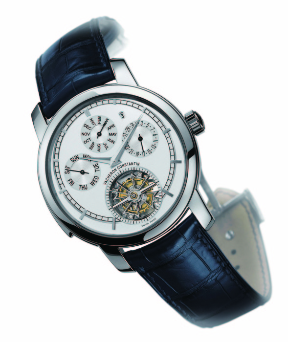 Vacheron Constantin Traditionnelle Calibre 2755 三問陀飛輪萬年曆腕錶