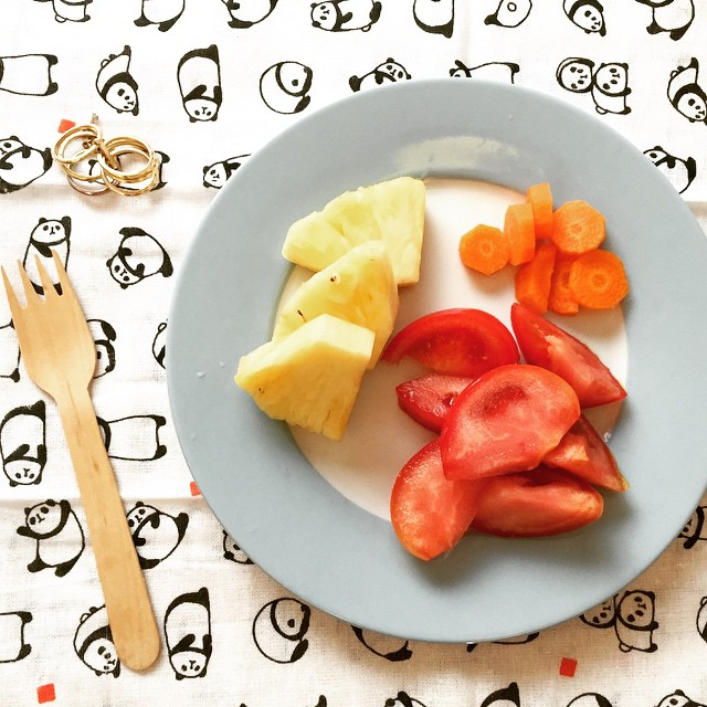 只要別把水果當正餐,在餐前後吃都可以幫助鐵質吸收。