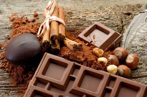 吃上一塊巧克力,立刻補充開心的正能量!