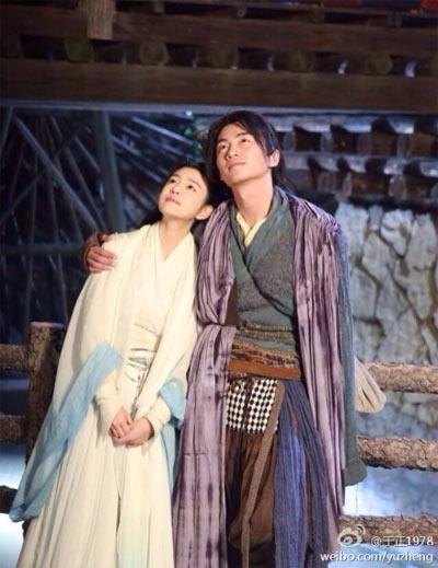 新熱播的陳妍希版《神雕》不知道有符合大家心目中的小龍女嗎?