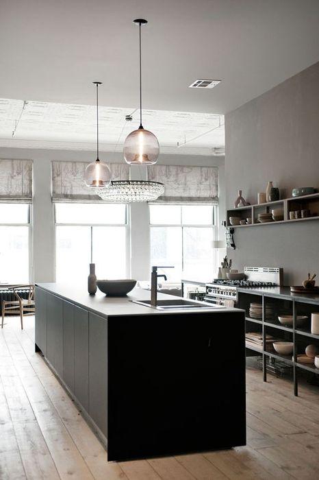開放式的廚房,更有紐約SOHO的感覺
