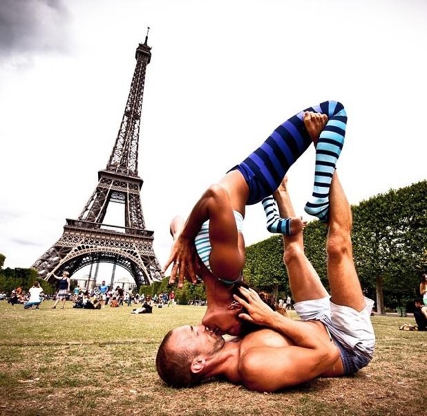 Pro級雙人瑜珈,無誤!