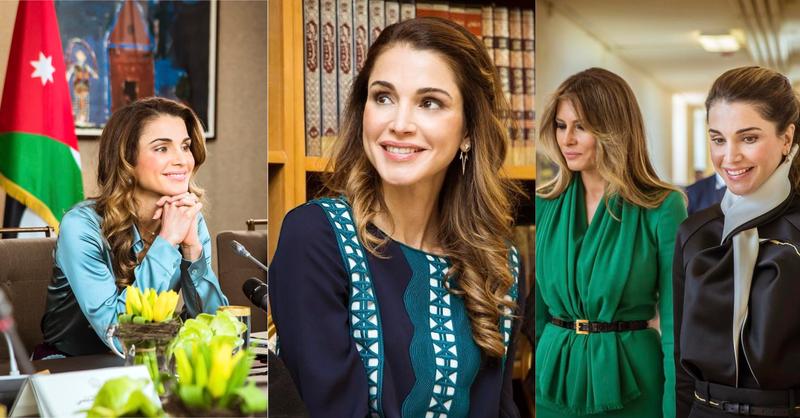 阿拉伯世界的戴安娜!跟約旦王后拉尼婭學皇室不老養成術