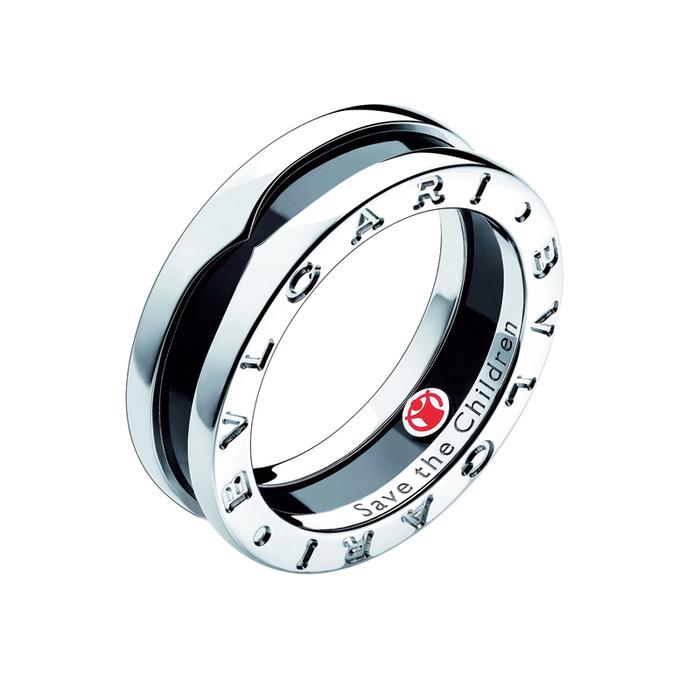BVLGARI-從經典到永遠 若談到BVLGARI最具代表的入門款,「B.zero1」絕對當之無愧  黑陶瓷戒環, 16,500元