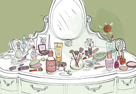 漂亮女生梳妝台 一定要有的8件彩妝基本款