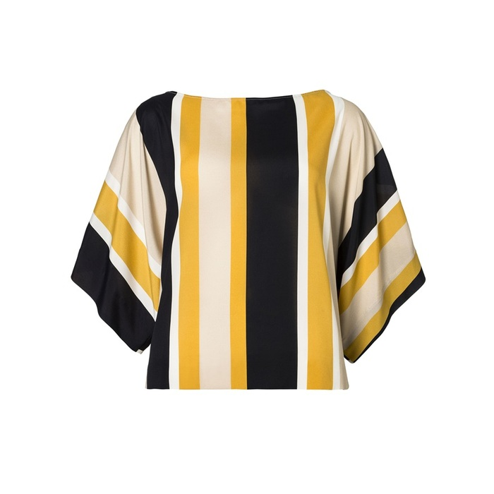 SISLEY條紋撞色上衣,NT$2,680