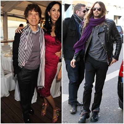 米克傑格Mick Jagger、加爾德勒托Jared Leto
