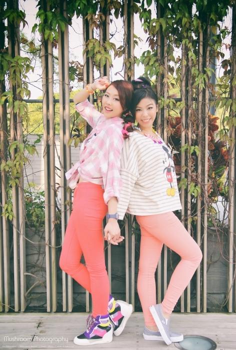【香港最潮部落客穿搭】穿著姊妹裝 一起放假去!