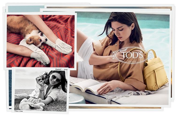 TOD'S 2018春夏形象,歡迎光臨Kendall Jenner的義大利夢境