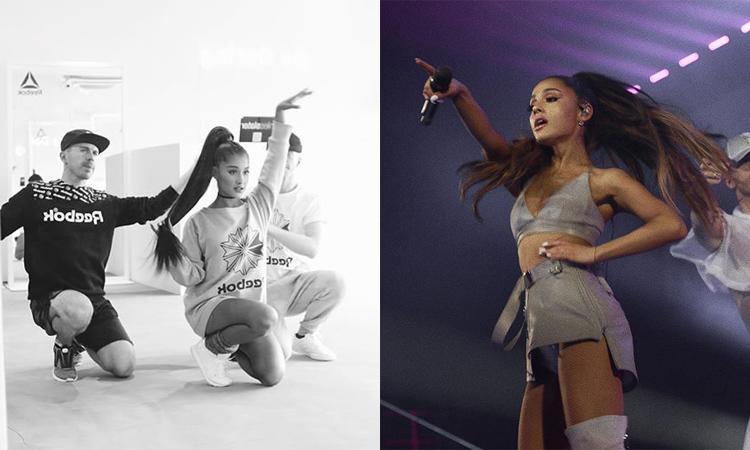 Ariana跳舞