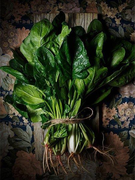 活力飲食菠菜