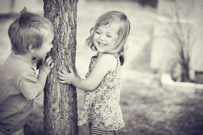 因為妳知道,森林裡妳最需要的,就是這棵樹
